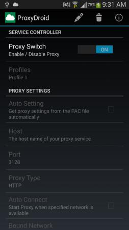 droidproxy